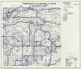 Township 5 N., Range 2 W., Lewis River, Fargher Lake, Dayton, Hall, Cedarville, Cowlitz County 1968